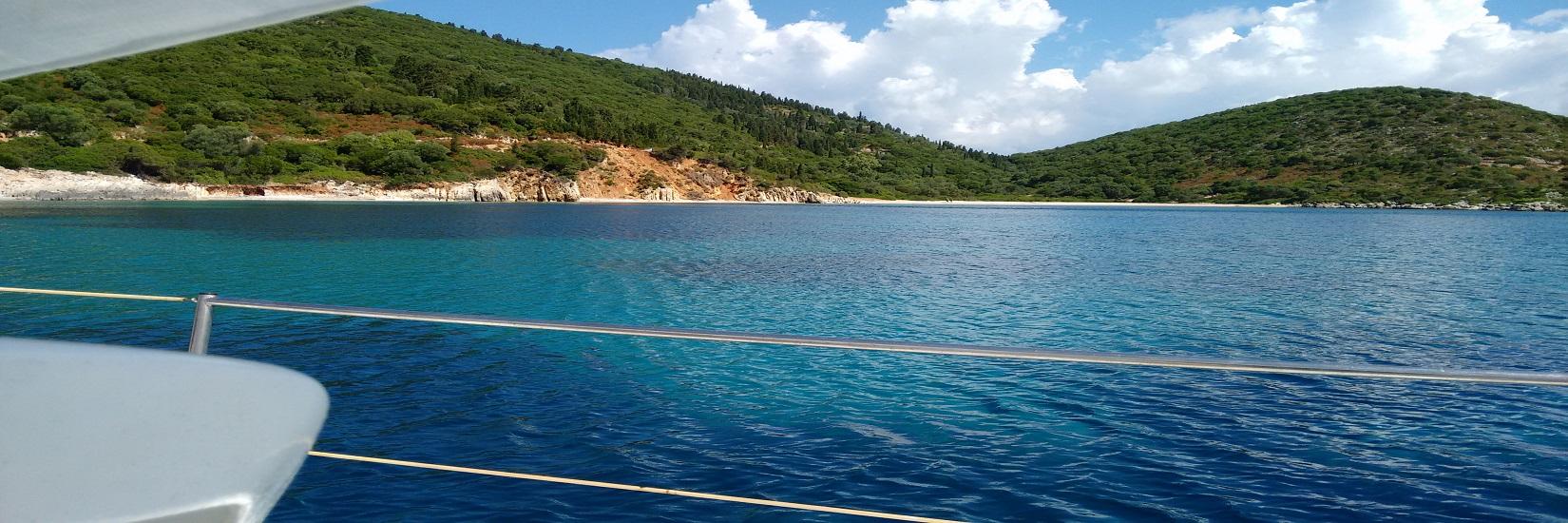 Due parole su Itaca…baie e porti del Mar Ionio Greco a bordo del Moana60!
